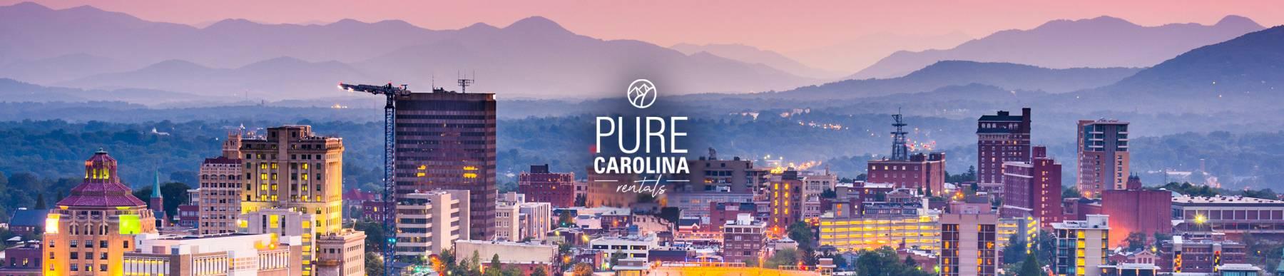pure carolina Asheville vacation rentals